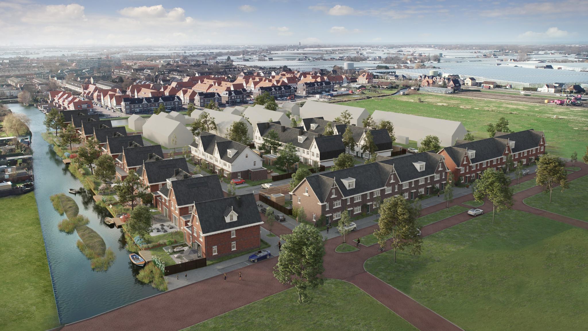 Groen licht voor 495 woningen innieuwe wijk Poeldijkerhout